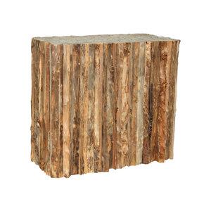 Sokkel woody hout  90x45x80cm