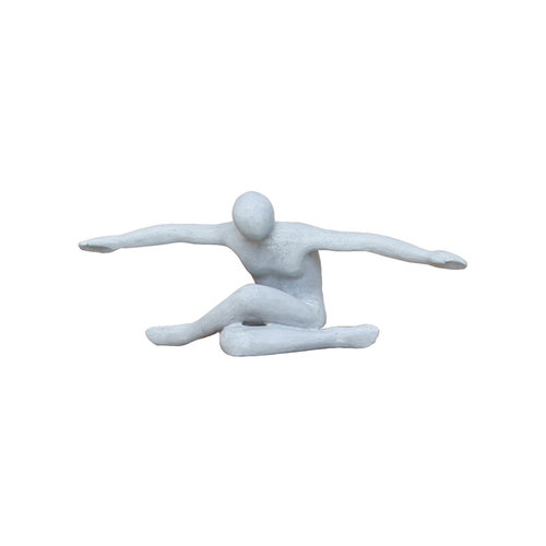 Flying man gray mat 53cm
