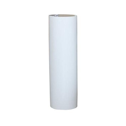Säule Hochglanz 100cm Weiß Hochglanz