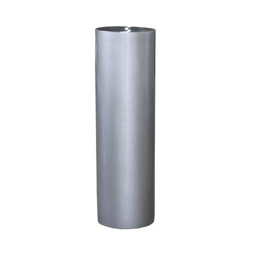 Column high gloss 100cm silver gray high gloss