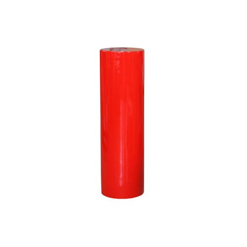 Zuil rond 80cm rood hoogglans