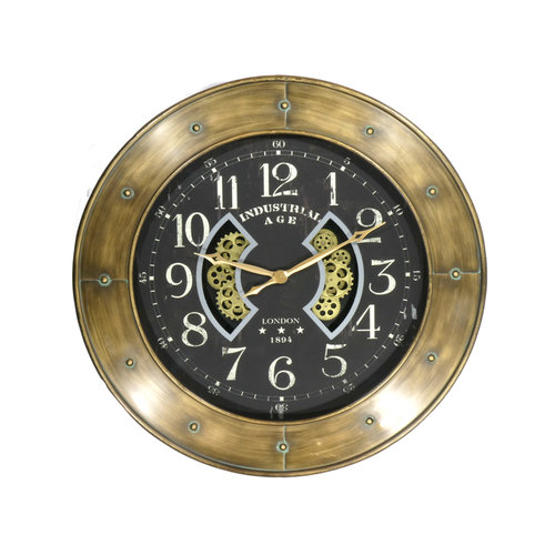 Clock around large transo 110cm