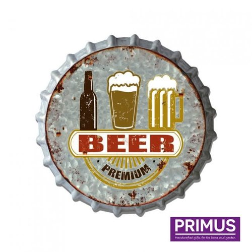 Beer cap wall decoration Premium bear