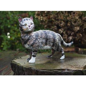 Metal cat 42cm