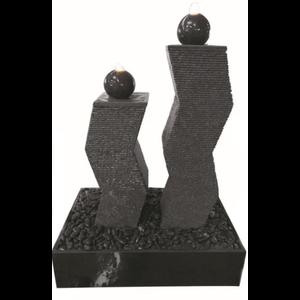 Eliassen Terrace fountain granite Doubles