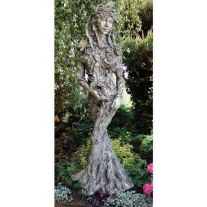 Tuinbeeld bosnimf  Koningin der natuur