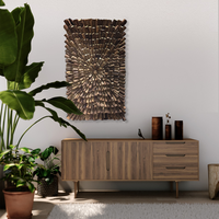 Schöne Holzwandpaneele als Wanddekoration für Ihr Zuhause oder Büro