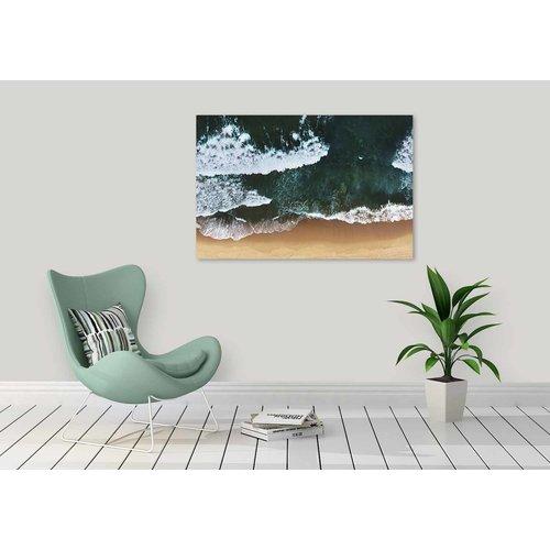 Wandkraft Malerei Dibond Strang 148x98cm