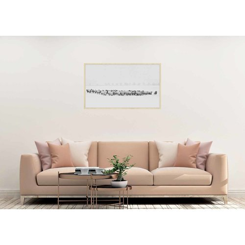 Wandkraft Schilderij forex Kudde 118x70cm
