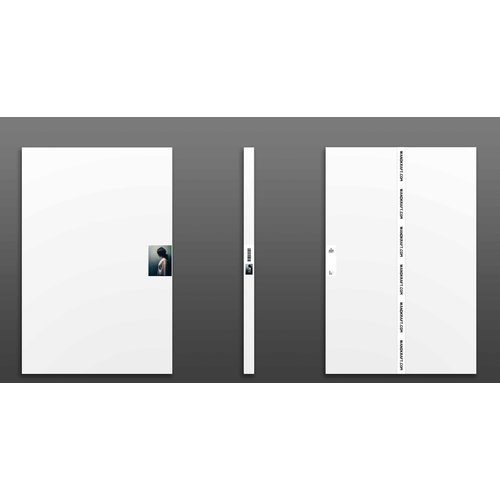Wandkraft Schilderij dibond rvs  Heavy  98x48cm