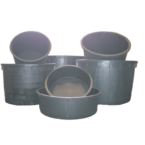 Plastic water bowl various sizes for ornament or fountain