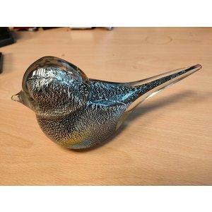 Vogel aus Glas groß 18 cm