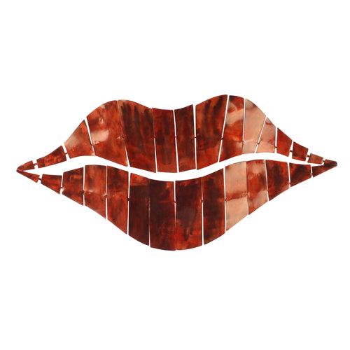 Muurdeco 3d Lips 95cm
