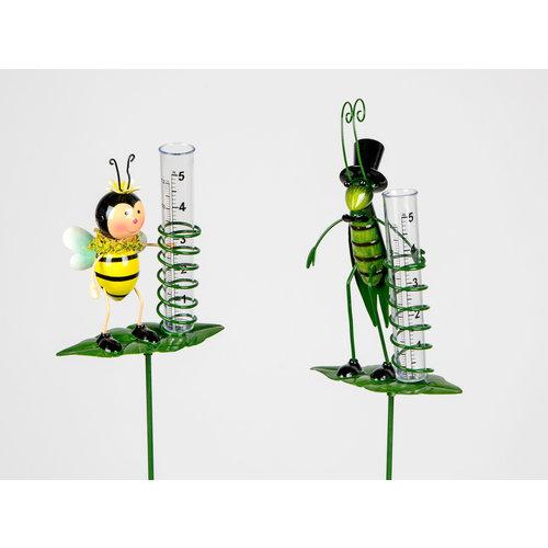 Grasshopper rain gauge