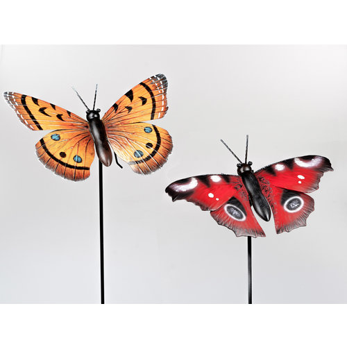 Gartenstecker Schmetterlingsset