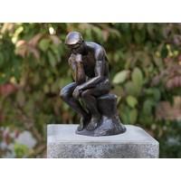 Beeld Denker van Rodin brons