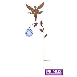 Metal garden plug fairy 3 with LED
