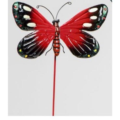 Tuinsteker rode vlinder