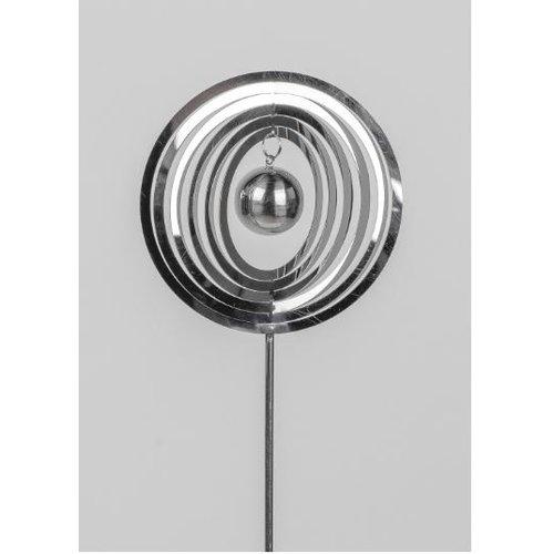 Garden plug round stainless steel