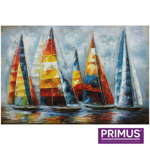 Painting 120x80cm Sailboats 1