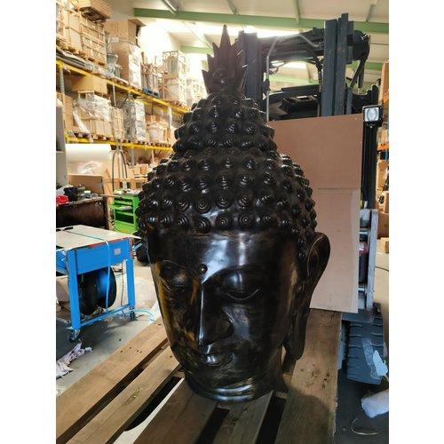 Boeddha hoofd brons 110cm