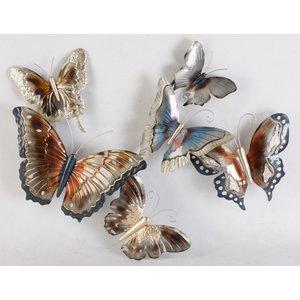 Wall deco 3d 9 Butterflies