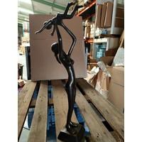 Beeld brons Moederliefde staand 60cm