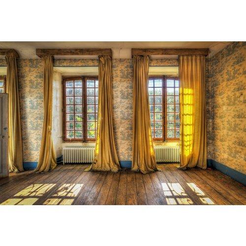 Glass painting 110x160 cm Windows