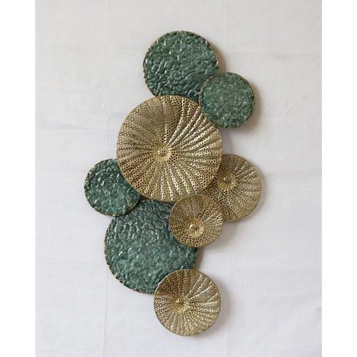 Wall decoration Gold green
