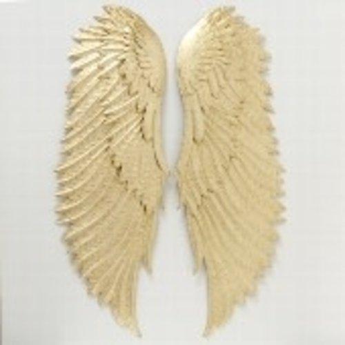 Angel wings gold 50cm