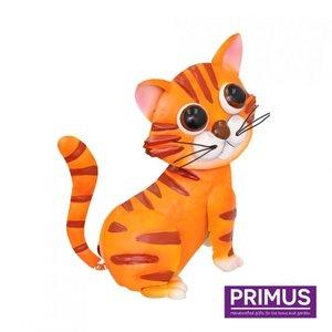 Metalen Rode kat