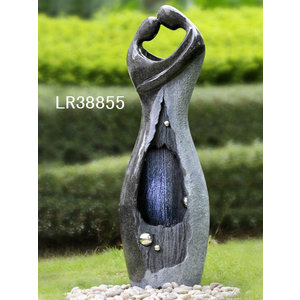 Water fountain love couple First Love 118cm