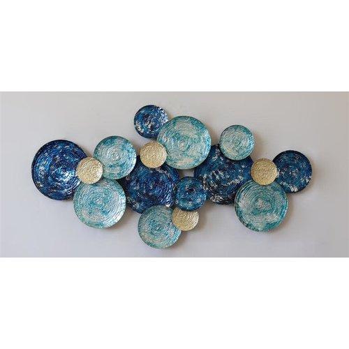 Dekoration Blaue Kreise