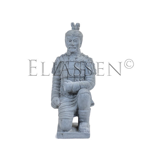 Chinese warrior kneeling 52cm