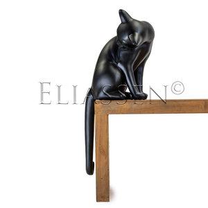 Eliassen Katze satinschwarz