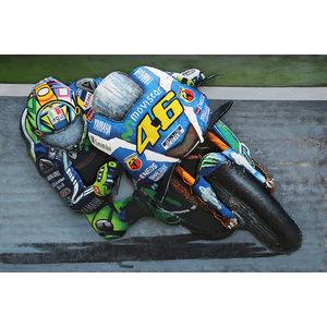 Schilderij 3D Rossi 120x80cm