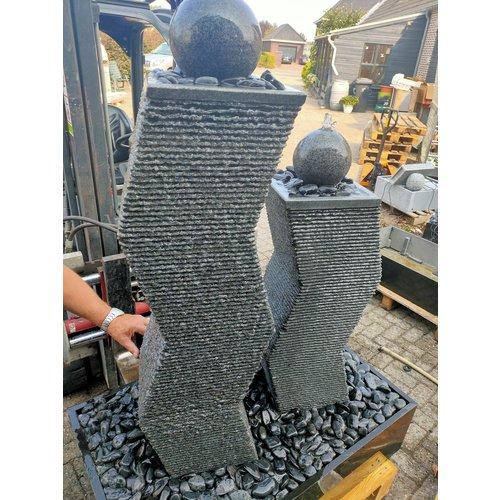 Eliassen Terrassenbrunnen Granit Doppel