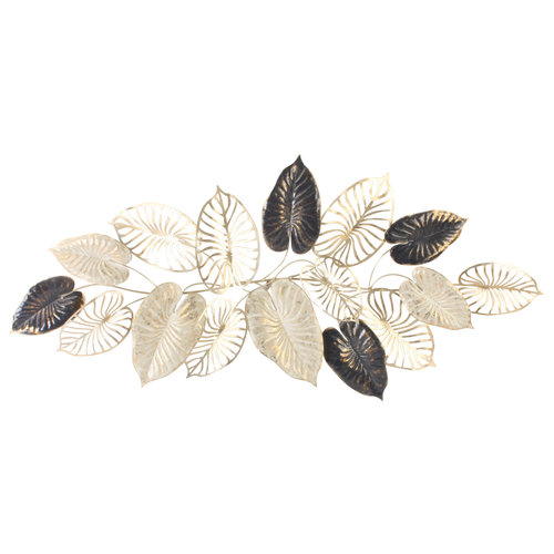 Leaves wall decoration