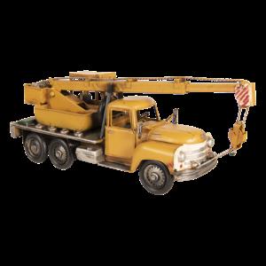 Miniatuur model kraanwagen