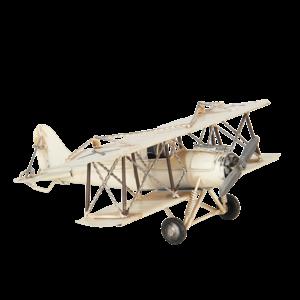 Miniatuur model vliegtuig