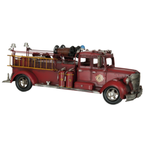 Miniature model fire engine