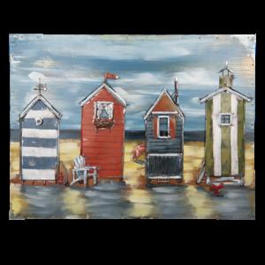 3d painting lighthouse 80x60 cm.