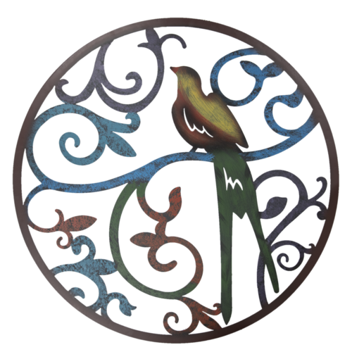 Wandobject vogel 99 cm.