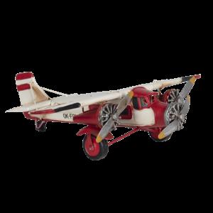 Miniatuurmodel vliegtuig