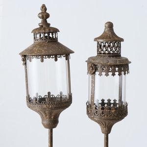 Tuinsteker set lantaarn  125cm