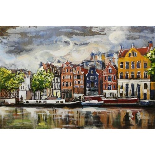 Metal 3D painting Canal