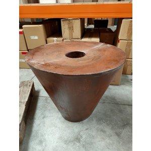 Wasserspiel Corten Stahl Plato 70cm