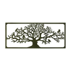 Wall decoration wide Tree 118cm