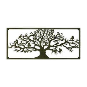 Wanddekoration breit Baum 118cm