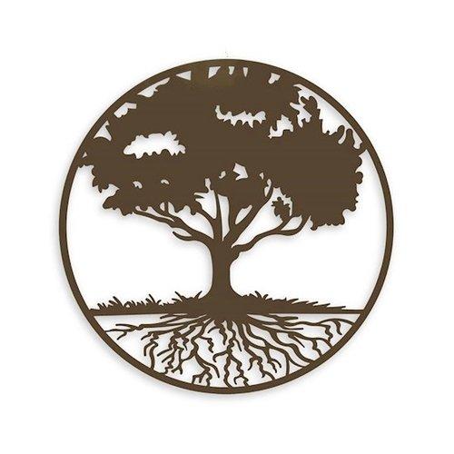 Wanddekoration um Baum des Lebens 99cm